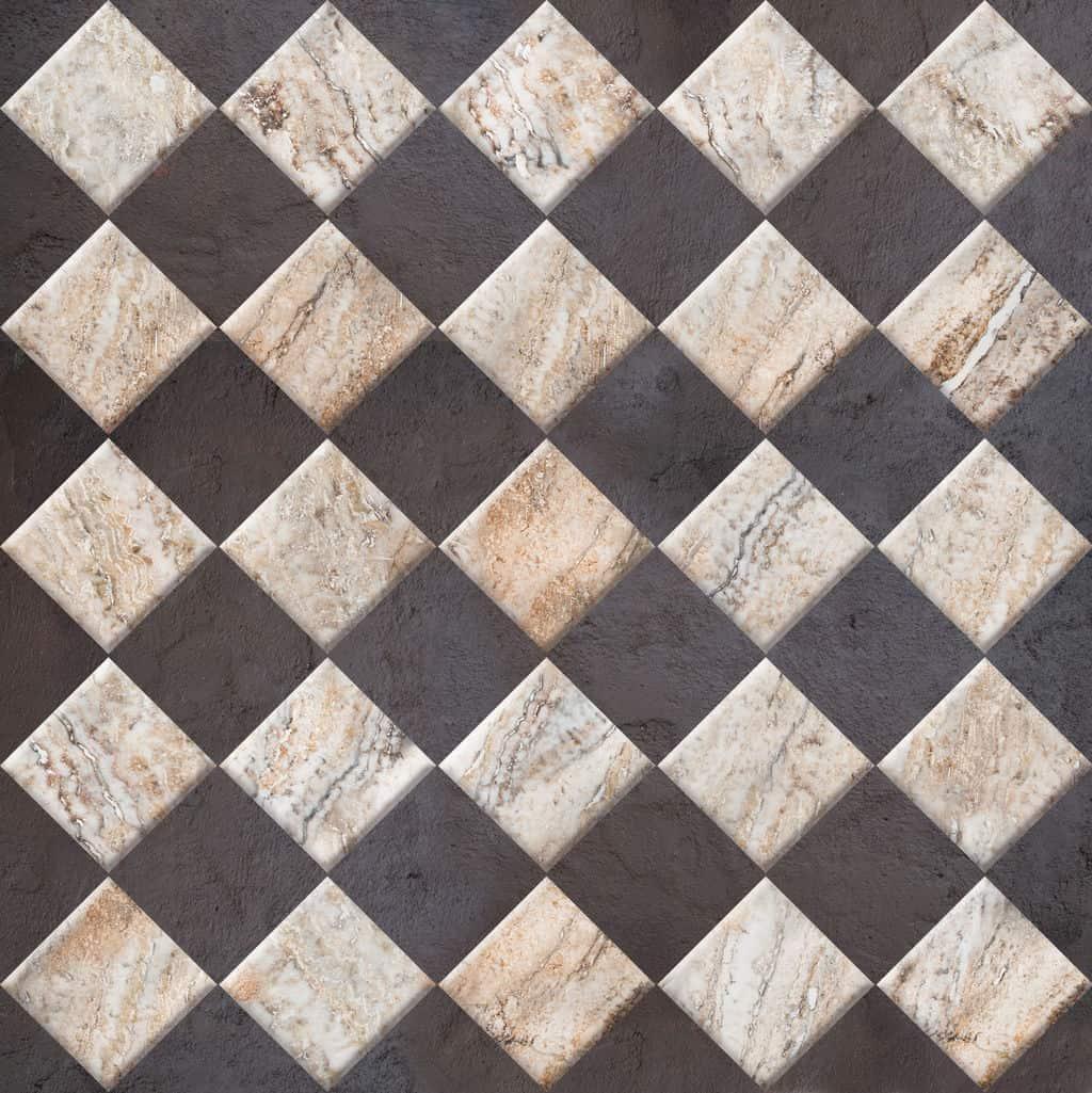 Basement floors best options for a basement floor that lasts for Can you paint floor tiles