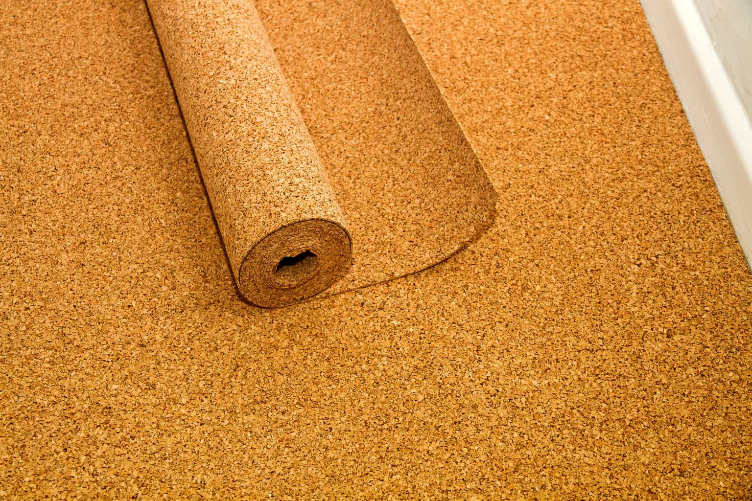 How to install cork flooring tips and guidelines for for Linoleum cork