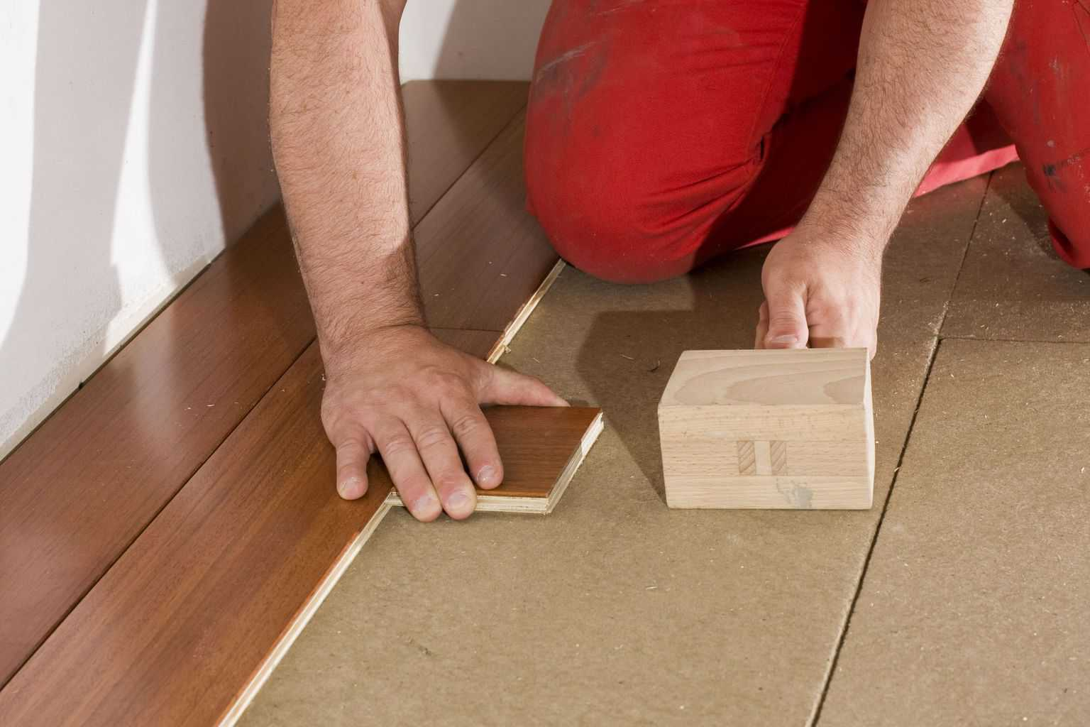 To Avoid Fracturing The Flooring Edge Use A Tapping Block Hit Bamboo Or Rubber Headed Mallet Never Directly