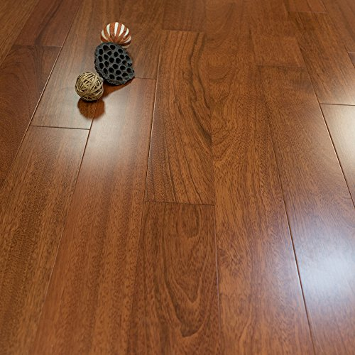 brazilian cherry prefinished engineered 5u2033 x 12u2033 wood flooring w3mm wear layer samples at discount prices by hurst hardwoods