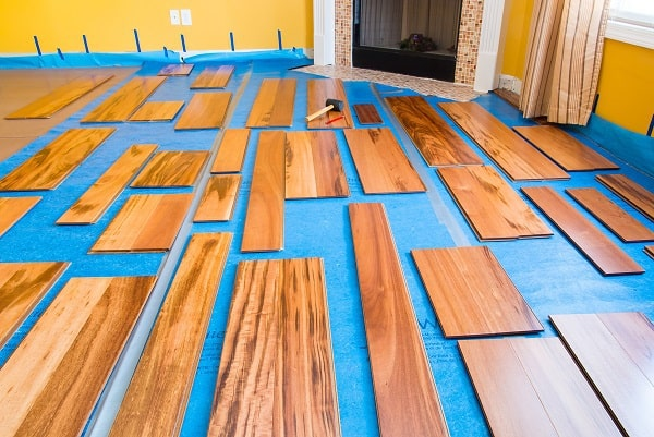 types of engineered wood flooring