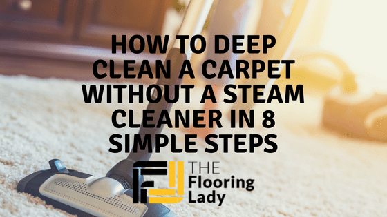 how to deep clean carpet without steam cleaner